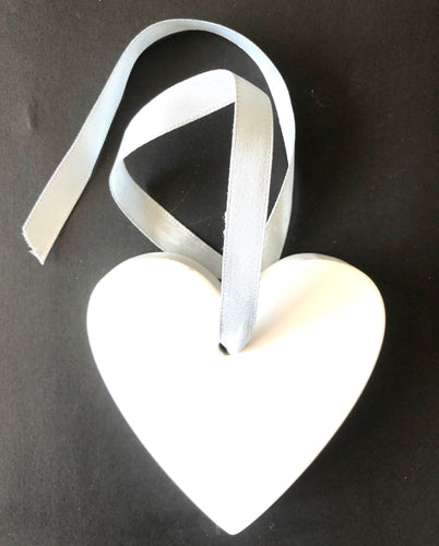 Pick N Paint Plaster Paris Moulds  - HEART (Handmade in NZ)