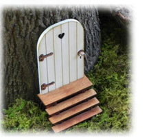 Load image into Gallery viewer, Craft-it.  A Small Wooden Elf Door to Decorate.