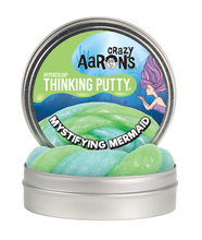 Load image into Gallery viewer, CRAZY AARON'S PUTTY - Mystifying Mermaid, Hypercolour 10cm Tin