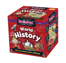 Load image into Gallery viewer, BrainBox - World History (55 Cards)