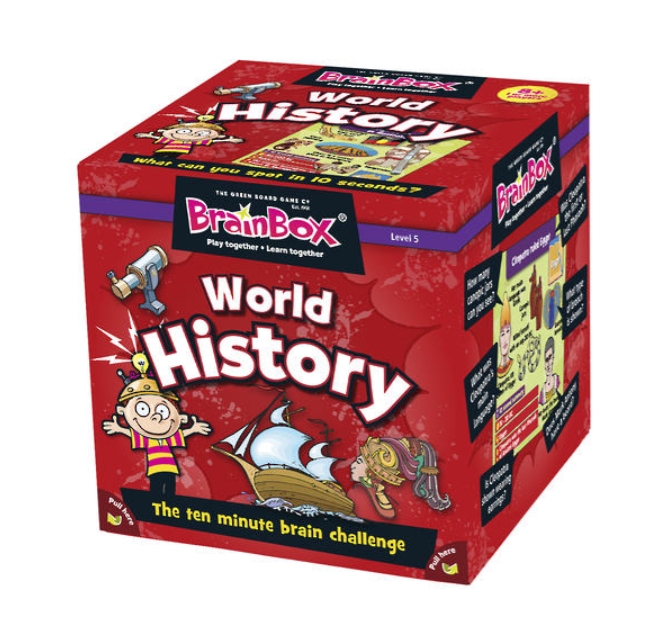 BrainBox - World History (55 Cards)