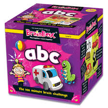 BrainBox - ABC Card Game  (55 Cards)