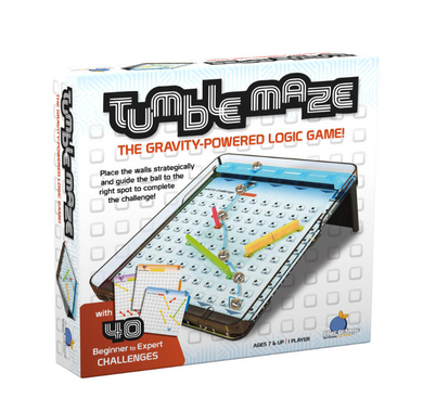 Tumble Maze Game  - Gravity Powered Logic