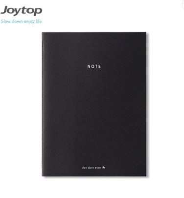 Joytop Sewn B5 Notebook Black Paper - 36 pages