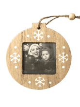 Load image into Gallery viewer, Craft-it.  Wooden Christmas Photo Frame for Christmas Tree