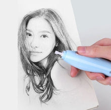 Load image into Gallery viewer, Automatic Rotation Electric USB Rechargeable Art Eraser