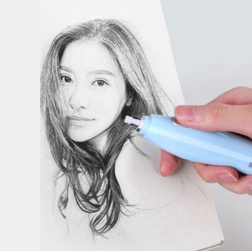 Automatic Rotation Electric USB Rechargeable Art Eraser
