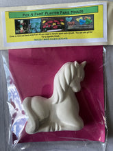 Load image into Gallery viewer, Pick N Paint Plaster Paris Moulds  - UNICORN (Handmade in NZ)