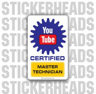 You Tube Certified - Add Your Own Text - Misc Union Sticker
