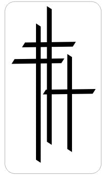 3 Crosses   - Religious Sticker