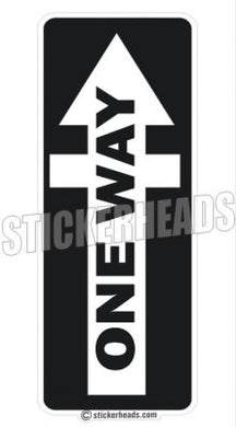 One Way  - Religious Sticker
