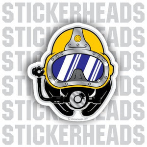 Diver Helmet - Commercial Diver Sticker
