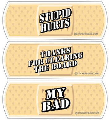 Band-aid Sticker Pack #1 ( 3 stickers )