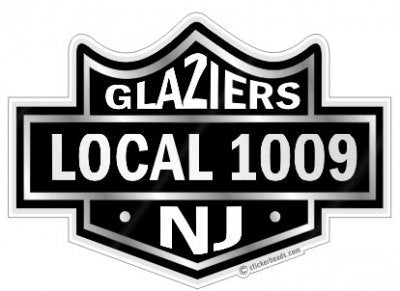 Glazier Stickers