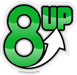 8 up - Funny Sticker