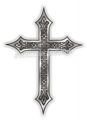 Celtic Cross  - Religious Sticker