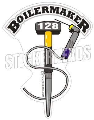 Sledge hammer - Welders - $ - your local -  boilermakers  boilermaker  Sticker
