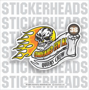 Condemned Few Skull & Banner -  Incentives Sticker