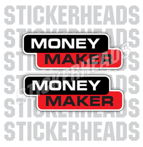 MONEY MAKER  - welding weld sticker
