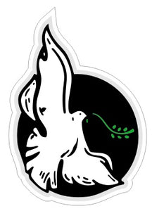 Peace Dove -  Religious Sticker