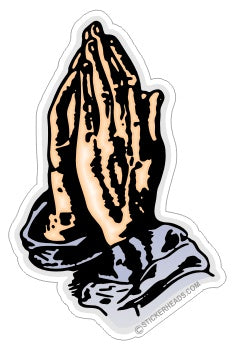 Praying Hands -  Religious Sticker