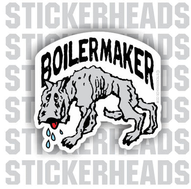 Animal ver 2  -  Boiler maker  boilermakers  boilermaker  Sticker