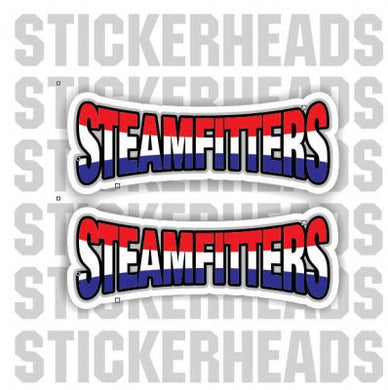Text 2 Stickers   - Steamfitter Steamfitters Sticker