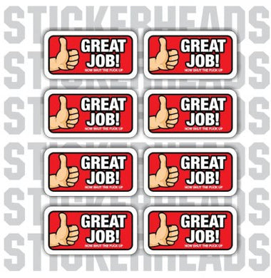 Great Job- Thumbs up - Incentive Sticker Pack #1 ( 8 stickers )