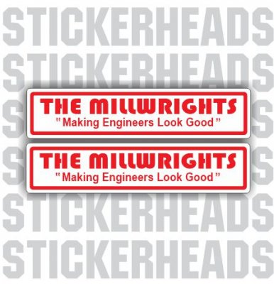 Millwrights Stickers