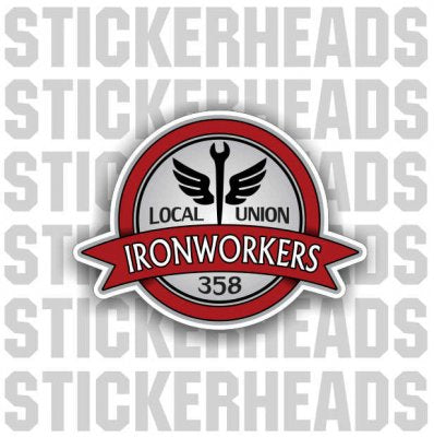 Winged Spud wrench delux  - Ironworker Ironworkers Iron Worker Sticker