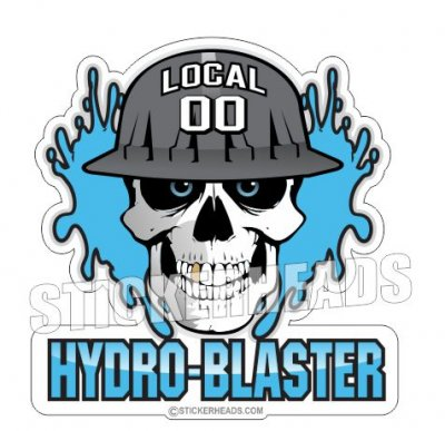 Hydro Blaster Stickers