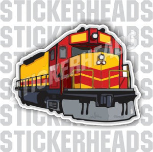 Train Engine - Railroad Sticker