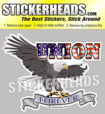 Union Forever Eagle (ver 2) - Misc Union Sticker