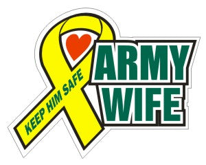 Army Wife  - Military Sticker