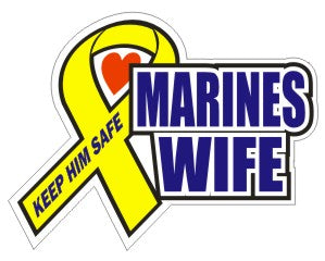 Marines Wife  - Military Sticker