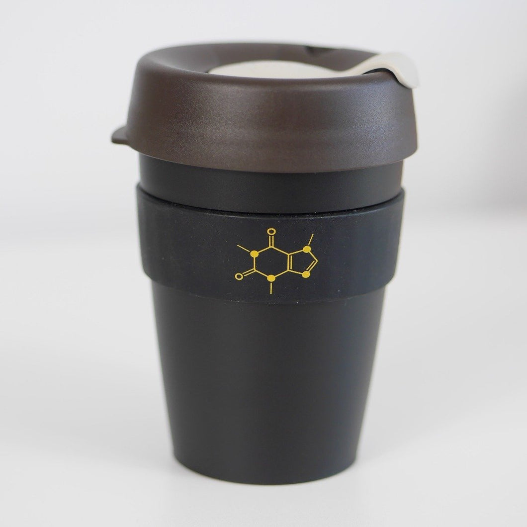 Caffeine Molecule 'Keep Cup' - Reusable Coffee Cup
