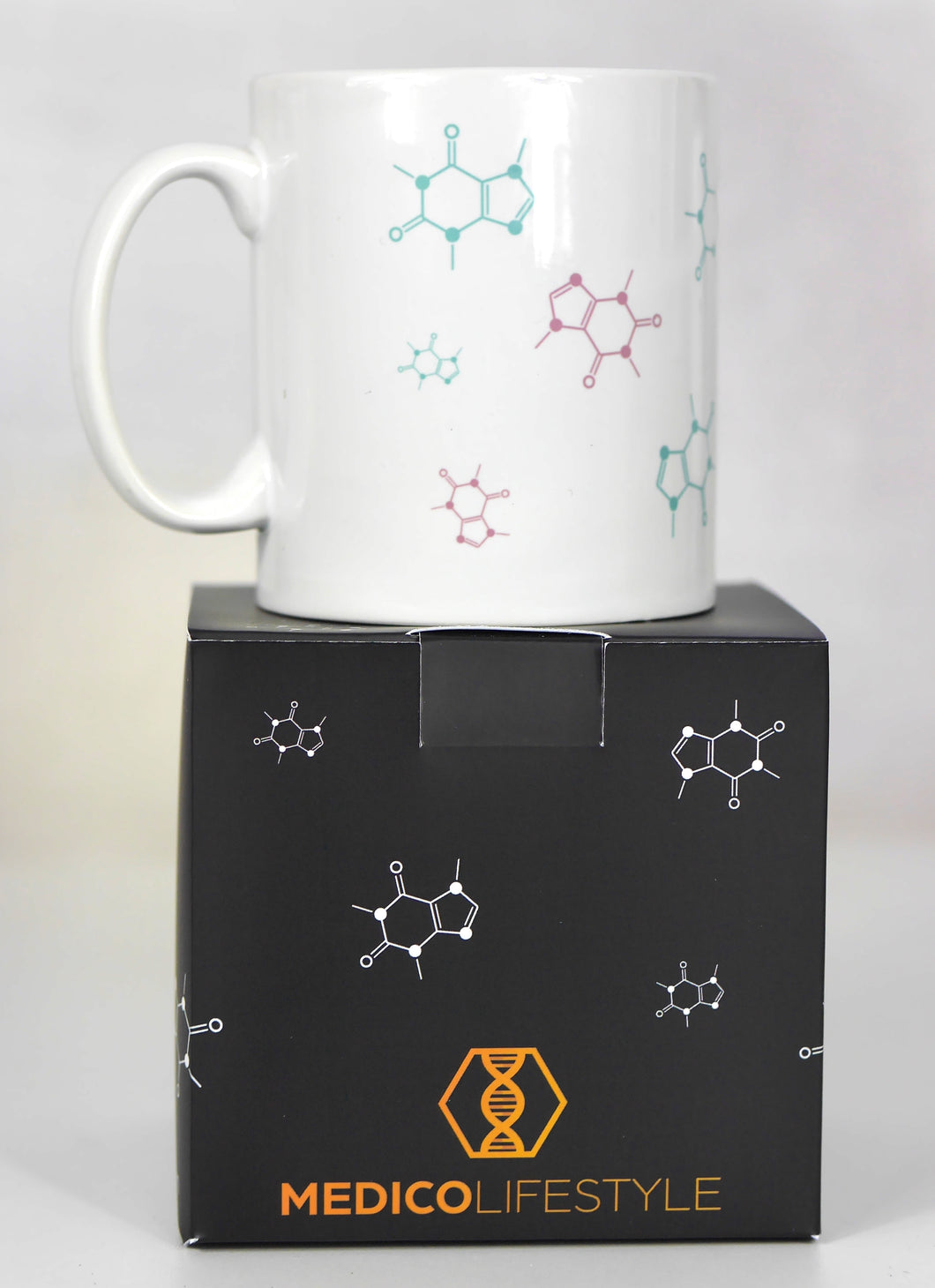 Caffeine Chemical Structure Mug