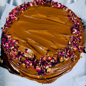 Vegan Chocolate Cake. Dairy and egg free.