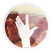 "Load image into Gallery viewer, VLDNV ""Wave"" Sticker (Grand Canyon)"