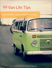 Load image into Gallery viewer, 99 Van Life Tips - From Real Community Members (Guide)