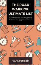 Load image into Gallery viewer, Road Warrior: Ultimate List of Resources (Database)