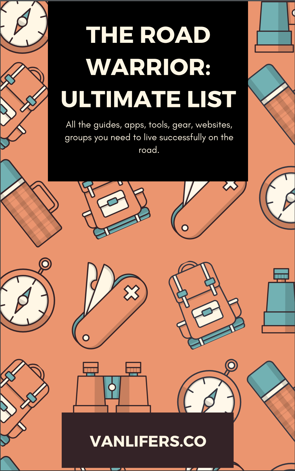Road Warrior: Ultimate List of Resources (Database)