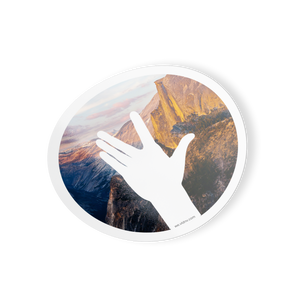"VLDNV ""Wave"" Sticker (Yosemite)"