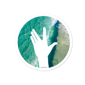 "VLDNV ""Wave"" Sticker (Surf)"