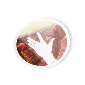 "VLDNV ""Wave"" Sticker (Grand Canyon)"