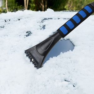 Windshield Ice Scraper + Snow Brush (LEEPEE)