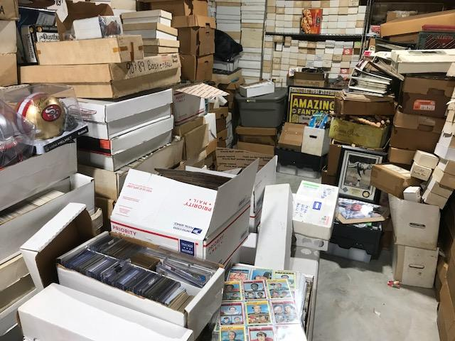 "Final Price! Going Out of Business:  ""The Final Hoard"" Mystery Sports Card Box! 6000+ Sports Cards! Incredible!"