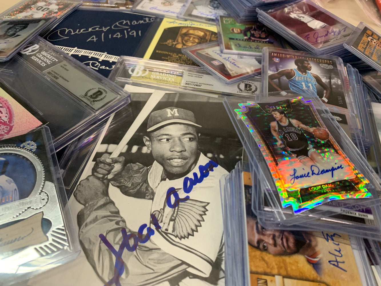 "The ""12 Days of Christmas"" Mystery ""Put It Under The Tree"" Box - Amazing Assortment of Sports Cards and Autographs"