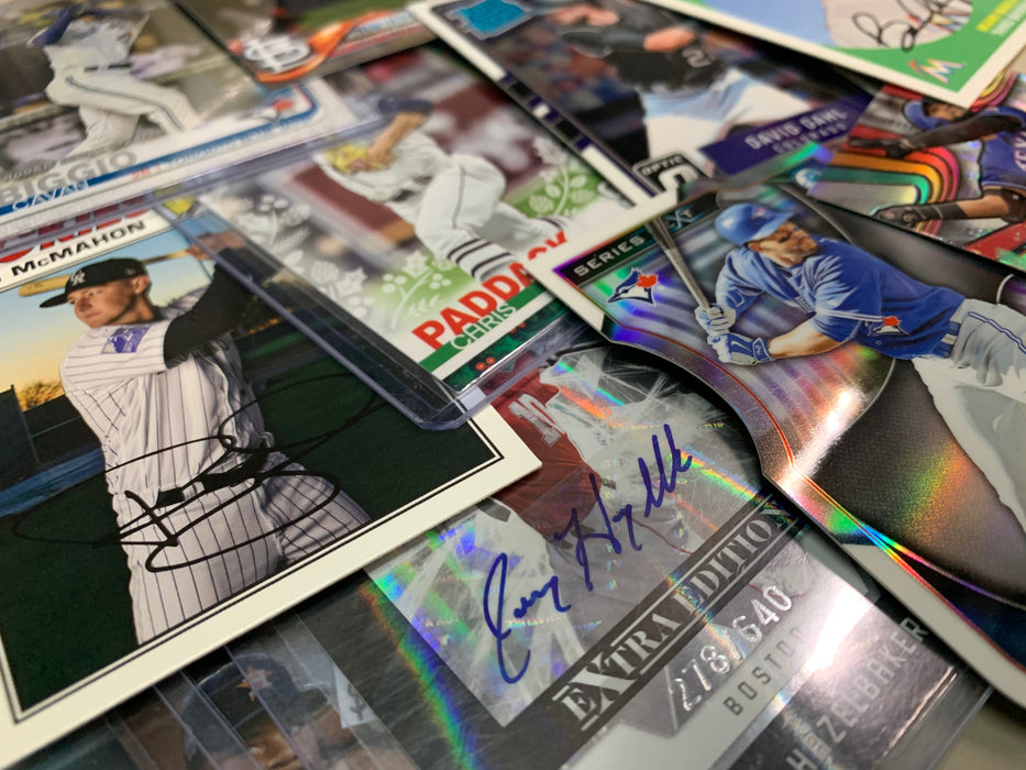12 Days of Christmas Deal - (100 Lot) Mystery Prospects & Rookies Baseball Only! Bowman, Bowman Chrome, Topps Chrome, and More!