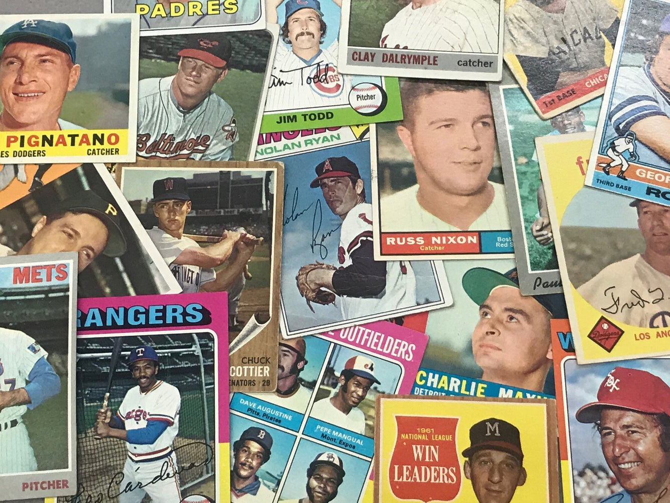 Final Price! Going Out of Business! VINTAGE (BASEBALL ONLY) Mystery Box of (50+) Vintage Cards